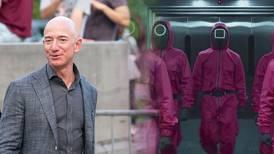 Jeff Bezos se rinde ante Netflix por 'El juego del calamar', pero es criticado por alabar la serie