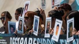 Presentan propuesta para crear comisión que investigue desapariciones