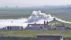 Pemex concluye reparación de ducto de gas en Nextlalpan: Del Mazo