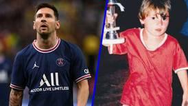 Credencial 'infantil' de Messi alcanza hasta los 20 mil dólares en subasta