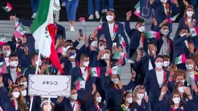 VIDEO: ¡Así desfiló México en la inauguración de Tokio 2020!
