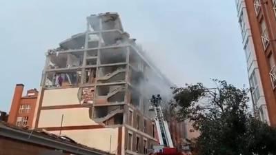 Explosión en edificio de Madrid, España, deja al menos cuatro muertos