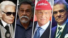 Niki Lauda, Karl Lagerfeld, Francisco Toledo y José José, entre los famosos que murieron en 2019