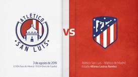 Atlético de Madrid jugará en México contra su 'hermano', el San Luis