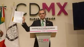 ¿Cómo deja Mancera las finanzas de la CDMX?