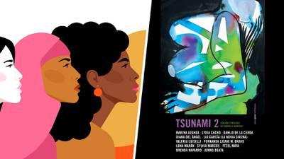 Un 'tsunami' de 12 voces: la ola feminista que 'vibra' ante la pandemia