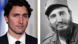 Trudeau, cuyo papá era amigo de Castro, le 'entra' al conflicto en Cuba... y lo acusan de 'tibio'