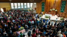 Entregan 9 cuerpos y realizan misa para 3 tras explosión en Tlahuelilpan