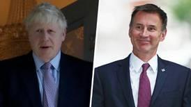 Johnson y Hunt, finalistas en la búsqueda para dirigir Gran Bretaña