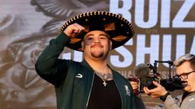 Regresaré más fuerte y seré campeón otra vez: Andy Ruiz