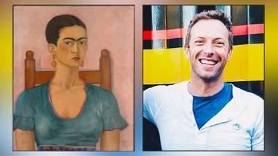 """""""Viva la vida"""": Esta es la relación entre Coldplay y Frida Kahlo"""