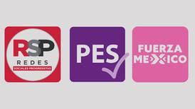 INE le canta oficialmente las 'golondrinas' al PES, Fuerza Social por México y RSP