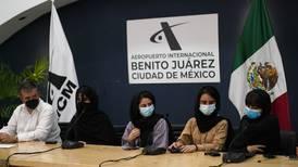 'México nos salvó la vida': llegan al país refugiadas afganas que inventaron un ventilador para casos COVID