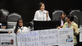 Rosario Robles: 'Pruebas hablarán contra quienes niegan los hechos'