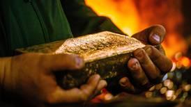 Producción de oro acumula dos años consecutivos 'sin brillo'