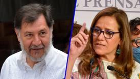 'Round' entre Fernández Noroña y Margarita Zavala en San Lázaro por reforma eléctrica de AMLO