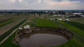 El socavón en Puebla tiene 'hambre': alertan que se expandirá... y quizá cause derrumbes