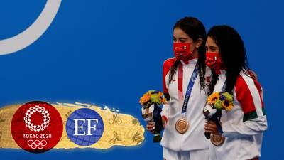 ¡Sí se pudo! Alejandra Orozco y Gabriela Agúndez ganan bronce en clavados