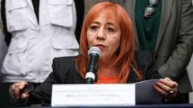 Diputadas piden renuncia de Rosario Piedra al frente de la CNDH; son ataques y calumnias, responde