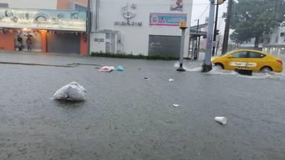 Inundaciones regresan a Tabasco por lluvias del frente frío número 9
