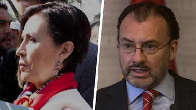 Un nuevo 'as bajo la manga' de Rosario Robles: imputar a Videgaray y otros exfuncionarios de EPN