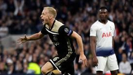 Ajax, a un paso de la final de Champions; gana de visita ante el Tottenham