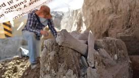 Descubren restos de mamuts en un relleno sanitario de Tultepec, Edomex