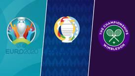 Eurocopa, Copa América, Wimbledon y más: un fin de semana de infarto deportivo