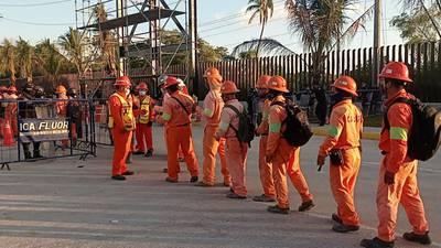 Dos Bocas: obreros regresan a trabajar tras 'tormenta' por paro