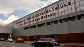 Aerolíneas que regresen a Toluca no tendrán incentivos en costos aeroportuarios