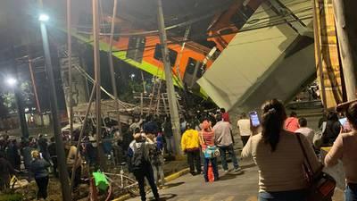 Tragedia en el Metro; hay al menos 23 muertos tras desplome en Línea 12