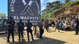 Miles de indígenas de Chiapas respaldan a grupo de autodefensas 'El Machete'