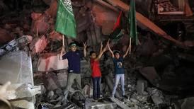 'La euforia de la victoria': Palestinos celebran alto al fuego en la Franja de Gaza