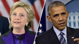 Encuentran artefactos explosivos enviados a los Clinton y Barack Obama
