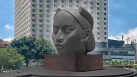 Ella es 'Tlali', la escultura indígena que remplazará a Colón en Reforma