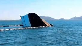 Choca transbordador contra un barco camaronero: 7 lesionados
