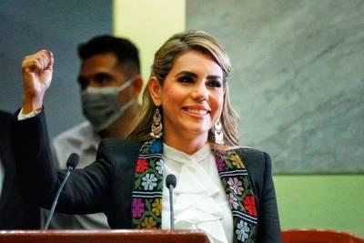 'Guerrero hace historia, tiene gobernadora': Evelyn Salgado asume cargo