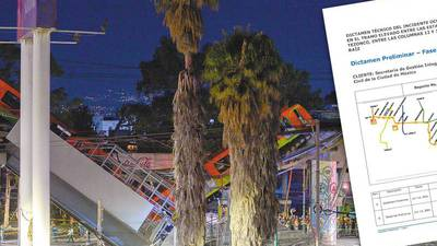 Exclusiva: Línea 12 colapsó por falla estructural asociada a la construcción, señala peritaje independiente
