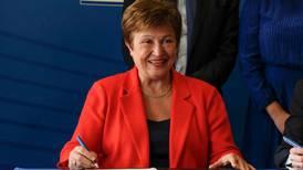 Kristalina Georgieva comparece ante junta del FMI por escándalo del Banco Mundial en favor de China