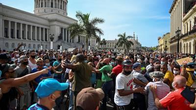 Cuba apunta a la 'mafia de Miami' como culpable de inusuales protestas