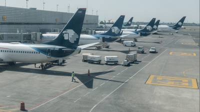 Aeroméxico busca que pilotos pongan más de la mitad del préstamo por bancarrota