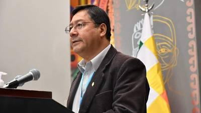 Presidente de Bolivia, Luis Arce, visita México en su primer viaje oficial