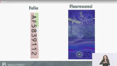 El 'blindaje' del nuevo billete de 20 pesos: estos son sus elementos de seguridad