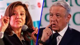 Zavala se le 'va encima' a AMLO: La 4T es de 'tragedia' para México
