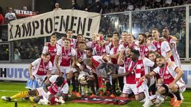 Ajax se corona campeón del futbol holandés, su título número 34
