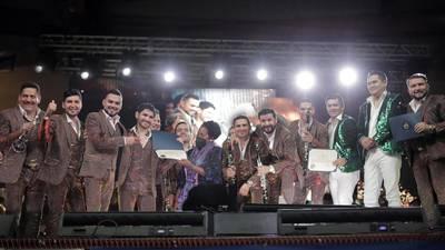 Banda El Recodo recibe reconocimiento del Congreso de los Estados Unidos por su legado cultural