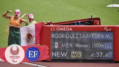 ¡Oro y récord del mundo para México! Mónica Rodríguez gana los 1,500 metros en atletismo