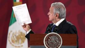 Análisis toxicológico y constancia psiquiátrica... Esta es la solicitud de información del INAI para López Obrador