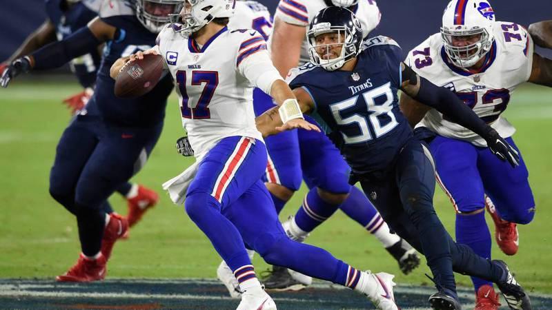 ¿Dónde y cuándo ver el partido de Bills vs. Titans?