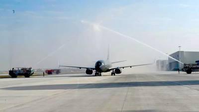 Gobierno 'palomea' con solo un vuelo 'real' viabilidad de operación en Santa Lucía